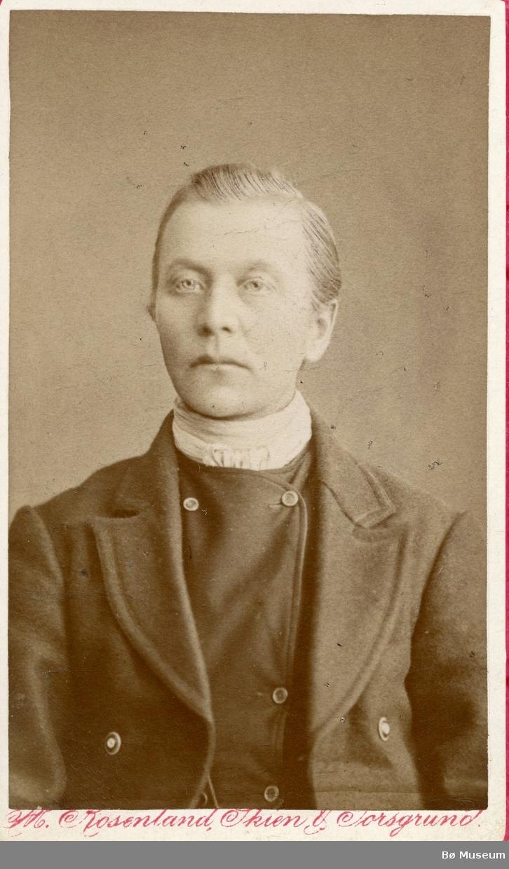 Portrett av Olav H. Jonsås