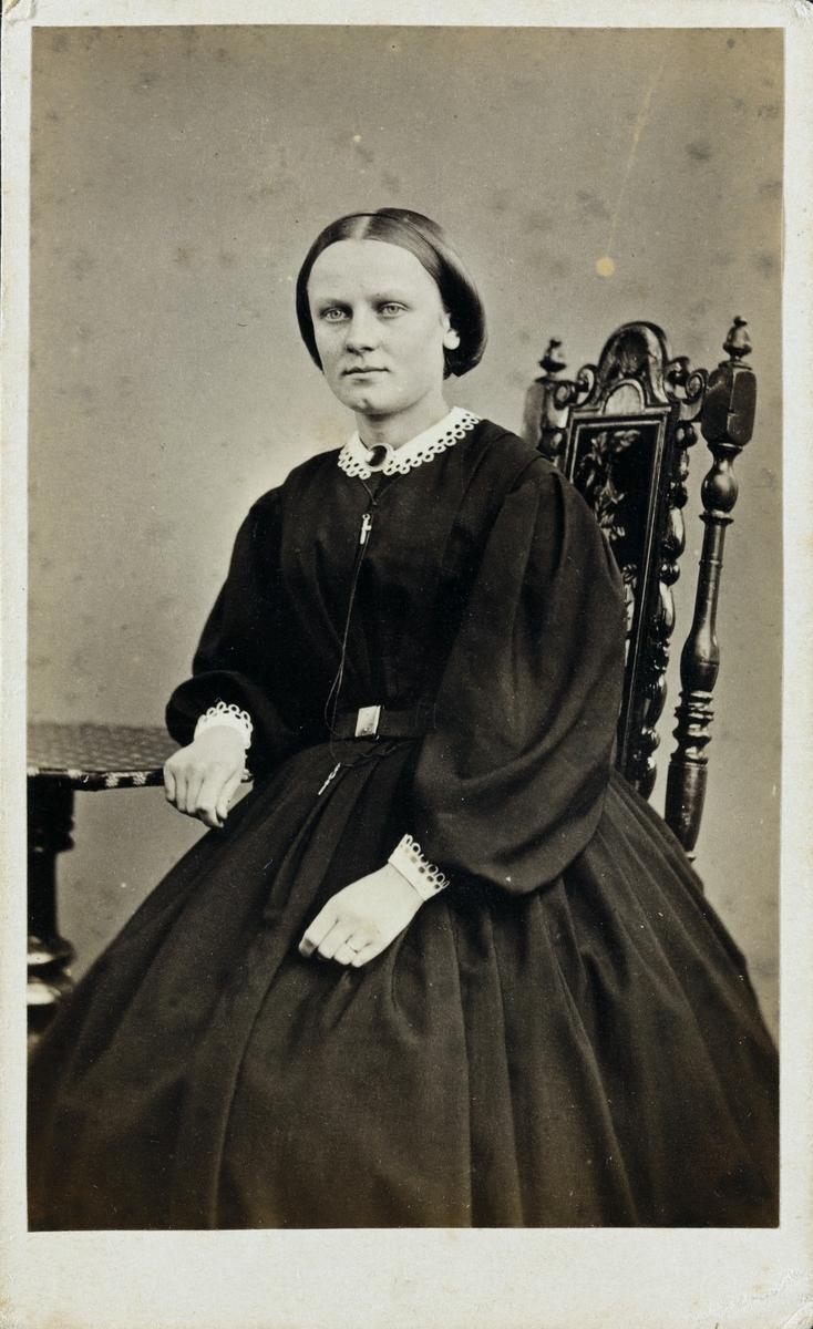 Portrett av Frk. Davidsen.