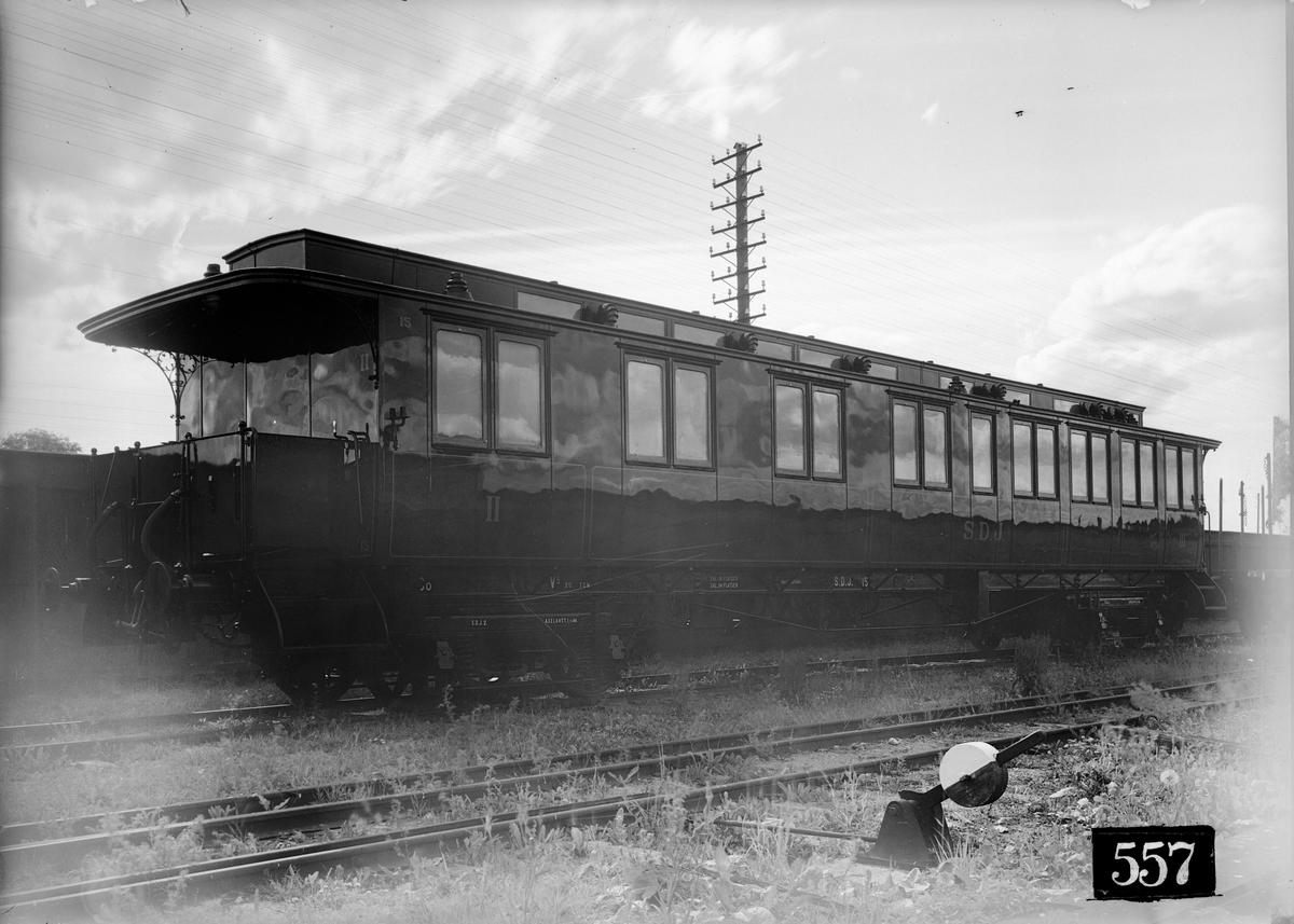 Södra Dalarnes Järnväg, SDJ BCo 15. Efter ombyggnad.