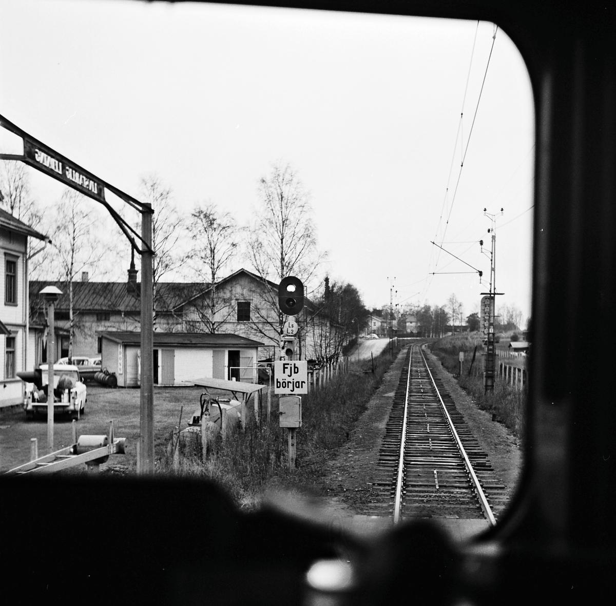 CTC-ställverk, dokumentationsresa på sträckan Ljusdal-Ånge