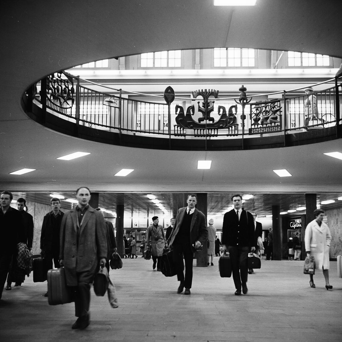 Stockholms Centralstation, Cst, nedre vänthall