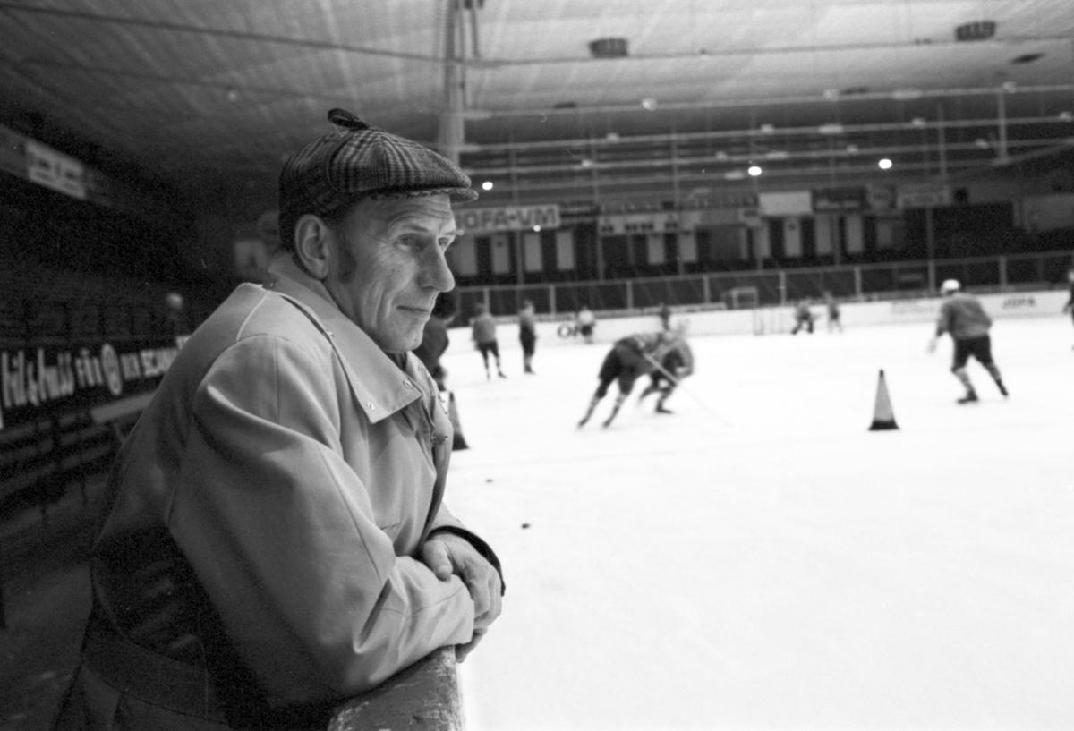 Statens Järnvägar, SJ, personal - ishockeyledare i Borlänge och Leksand