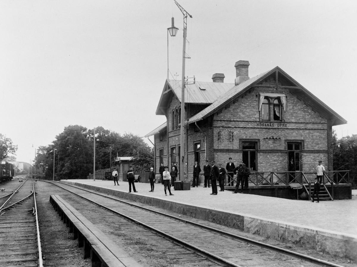 Höganäs - Mölle Järnväg, HMöJ,  Höganäs Övre station.