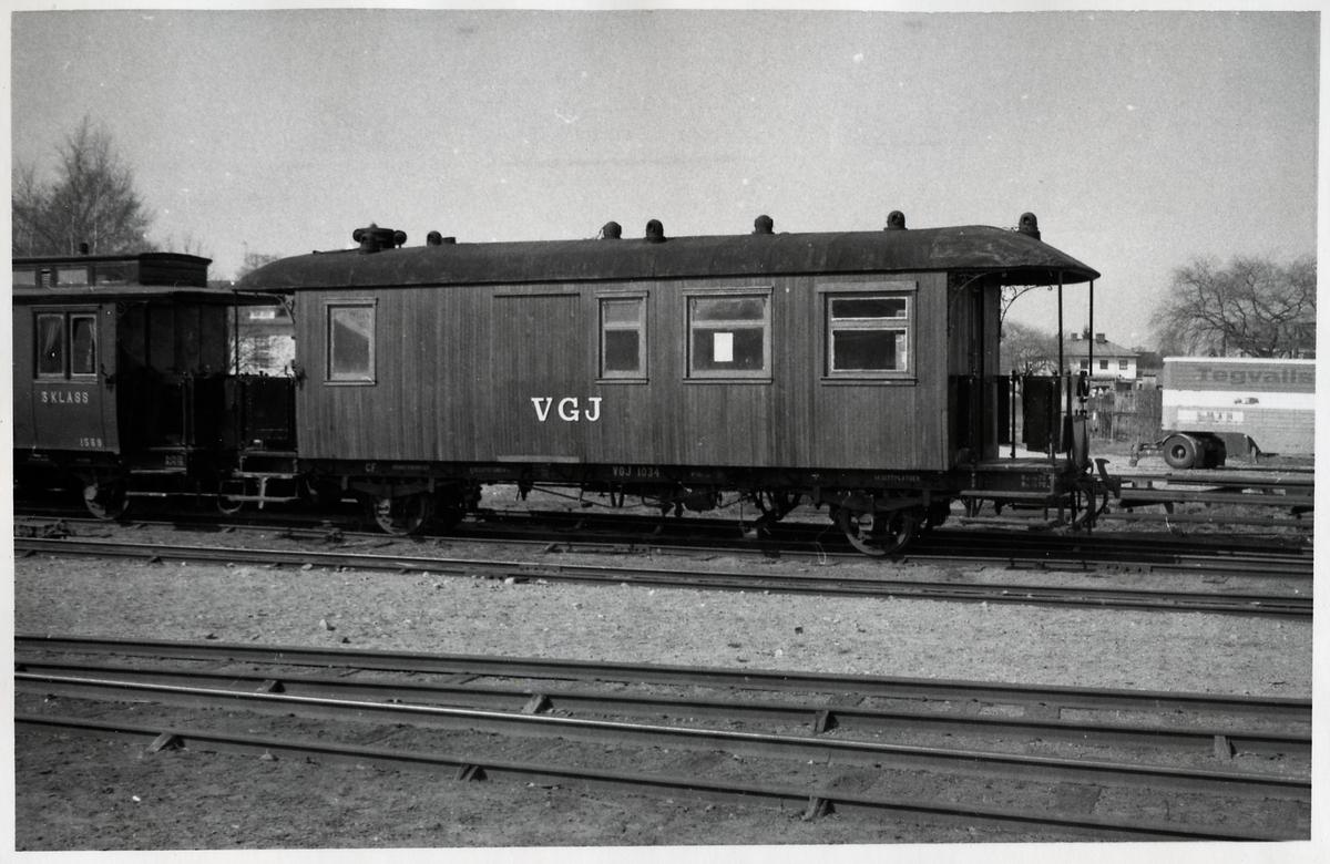 Västergötland - Göteborgs Järnväg, VGJ C , VGJ CF 1034.