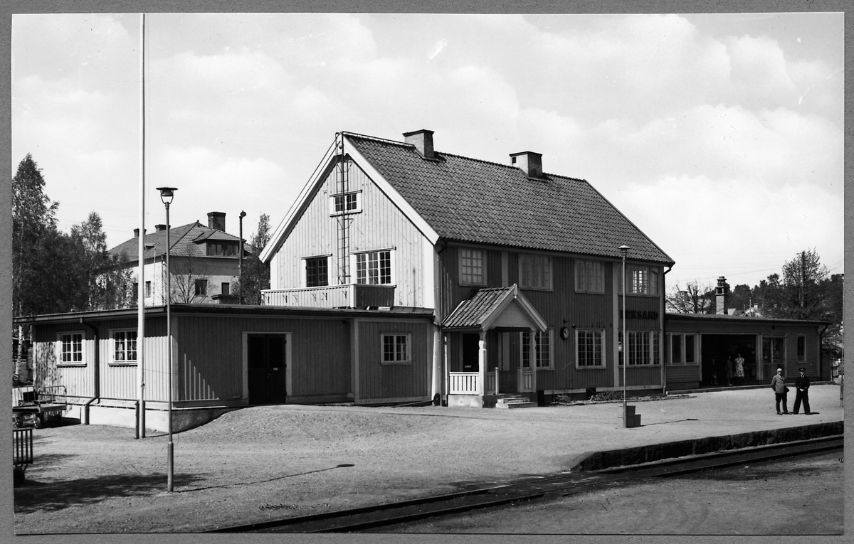 Leksand Järnvägsstation.