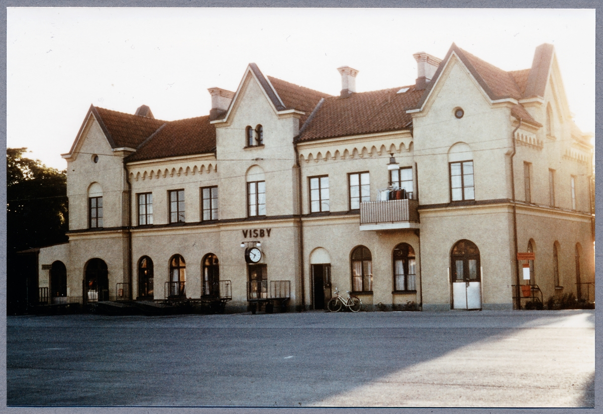 Visby station.
