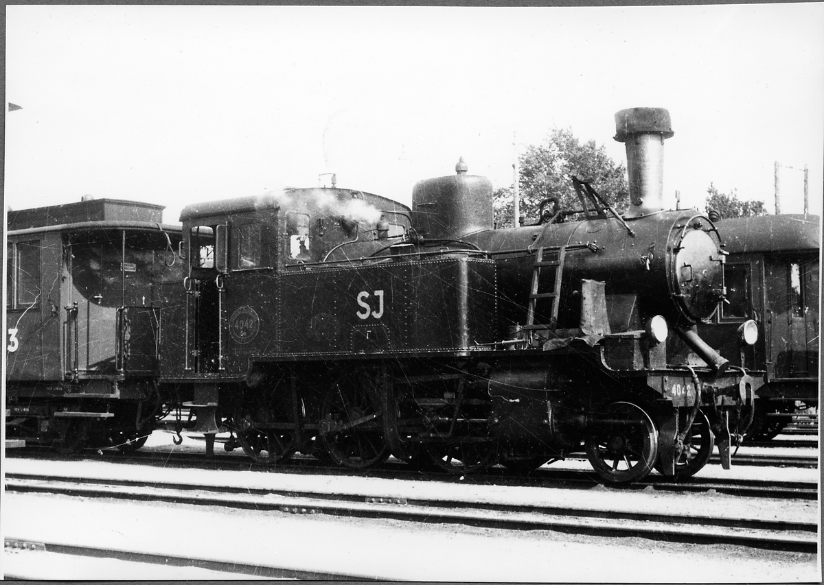 Statens Järnvägar, SJ S11t 4042 i Karlskrona.