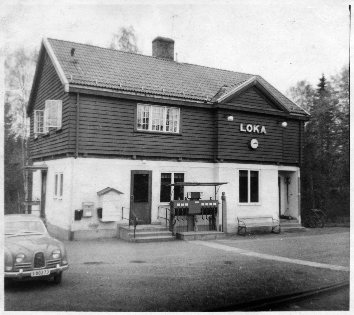 Loka station.