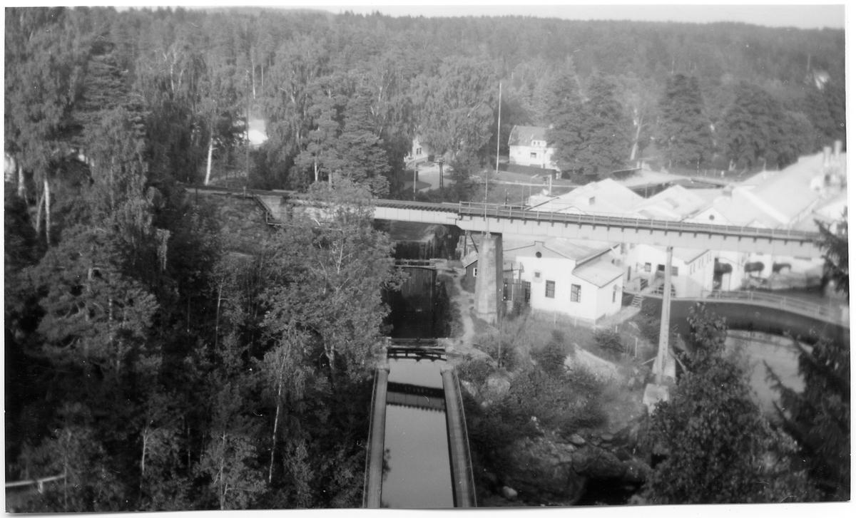 Akvedukten vid Håverud.