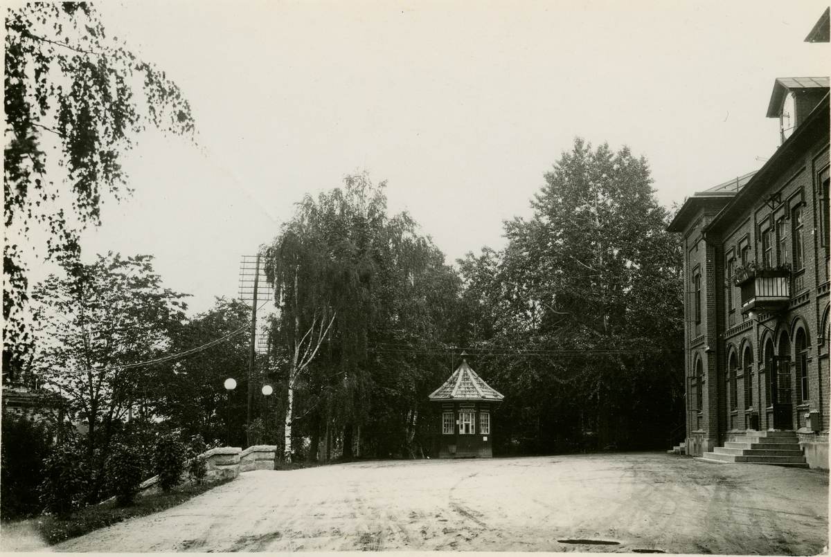 Sollefteå Järnvägsstation. Statens Järnvägar, SJ. Banan elektrifierades 1939.