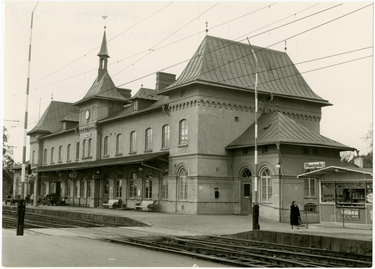 Gävle - Dala Järnväg, GDJ, Tjänstefordon som man hämtar paket och post.