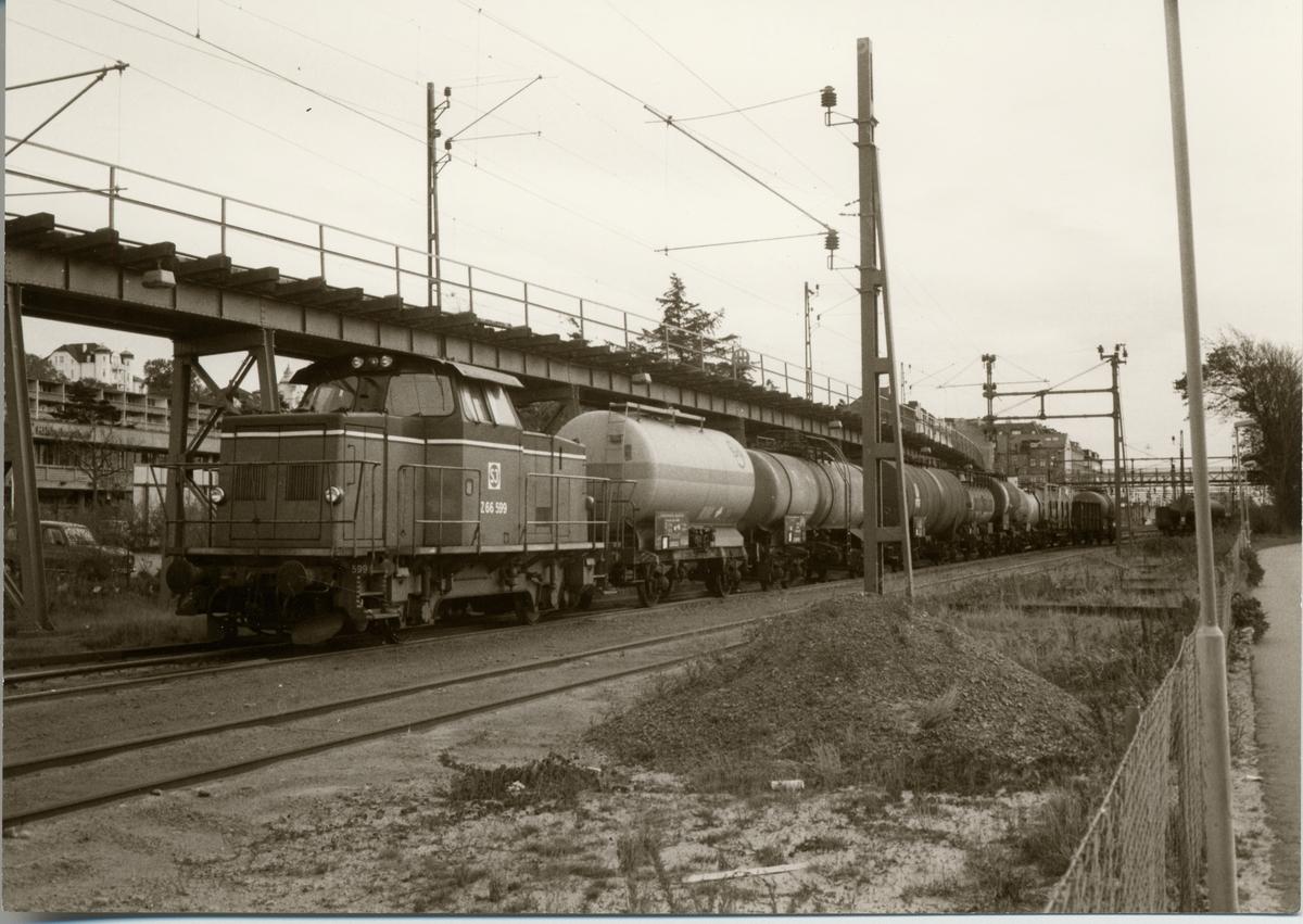 Helsingborg F (färjestationen), Statens Järnvägar, SJ Z66 599