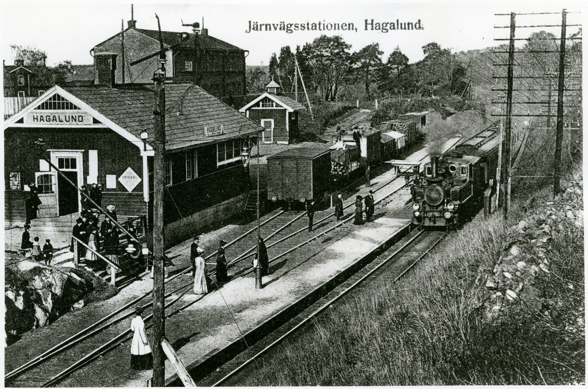 Hagalunds station.