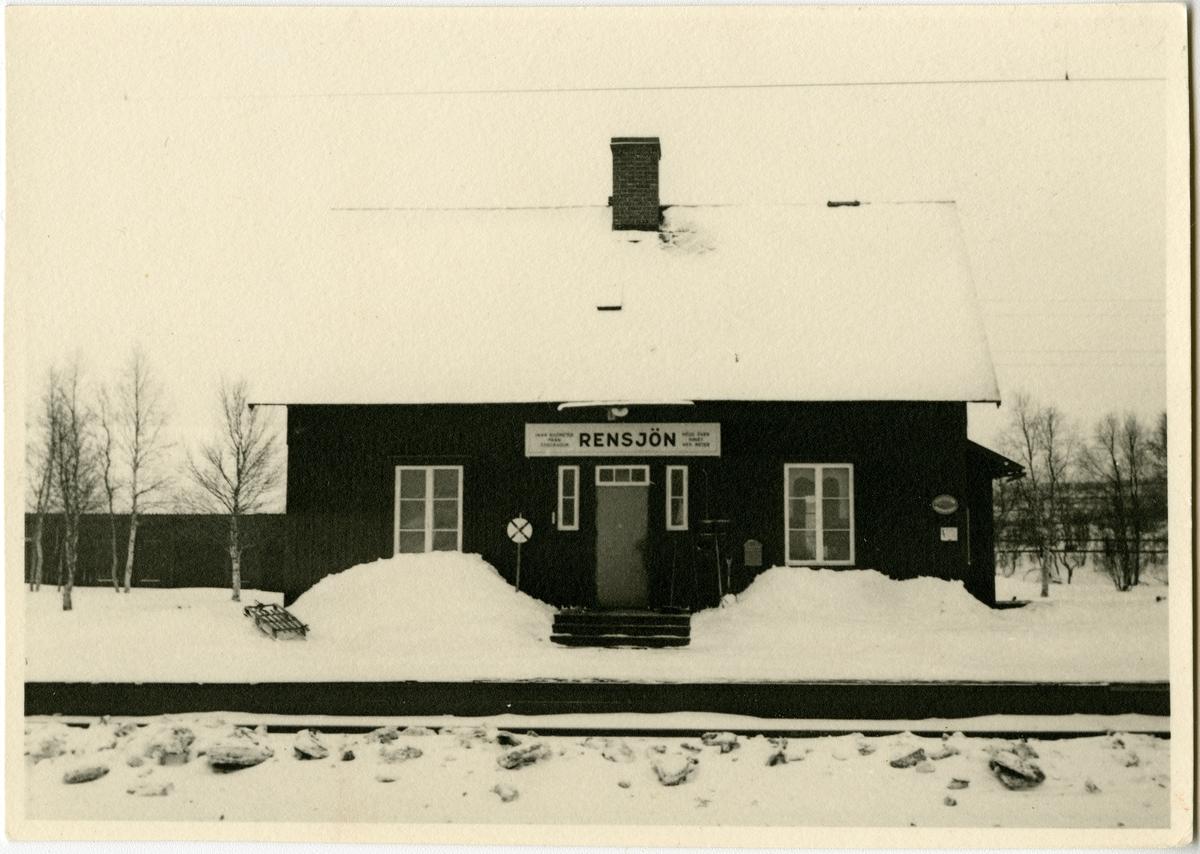 Rensjöns stationshus