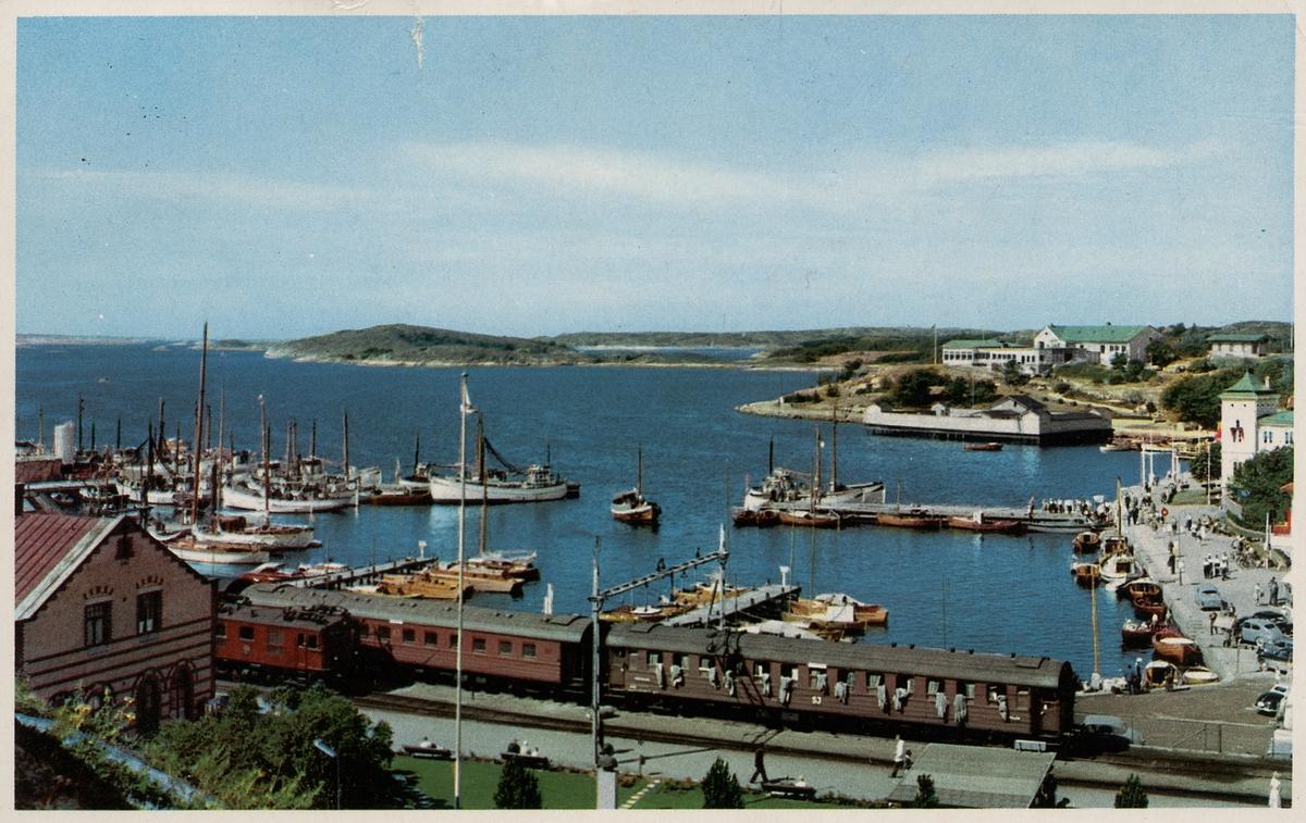 Södra hamnen i Strömstad.