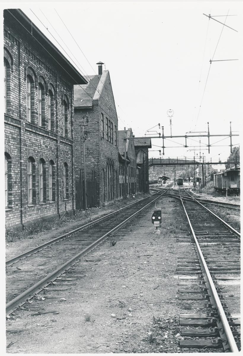 Statens Järnvägar, SJ Södra delen av stations området.