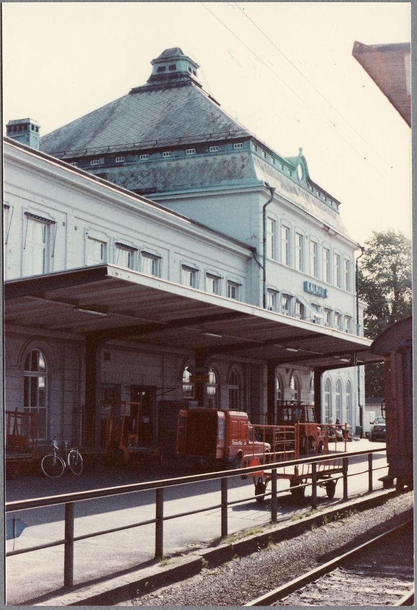 Kalmar C stationshus.