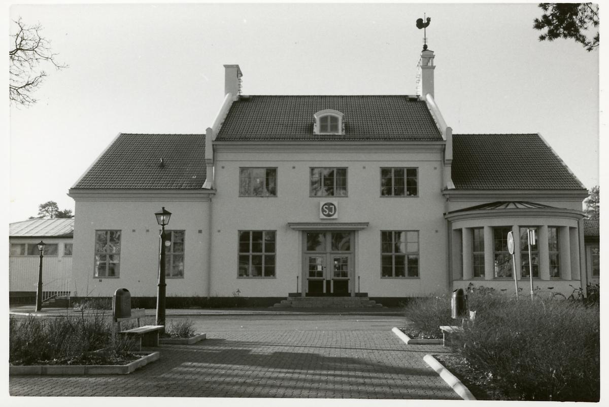 Rättvik stationshus.
