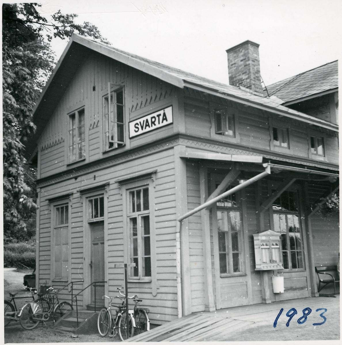Svartå stationshus.