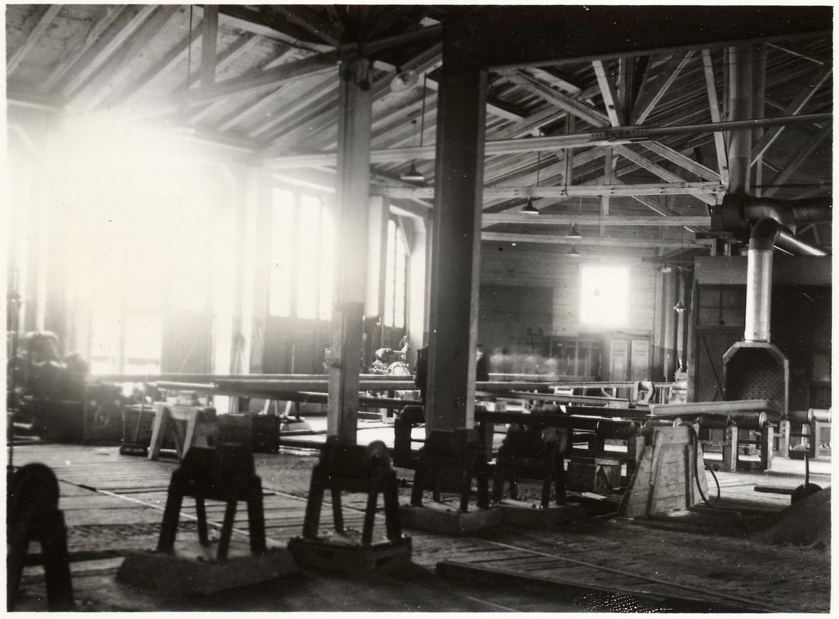 Rälsjusteringsanläggningen i Hallsberg.