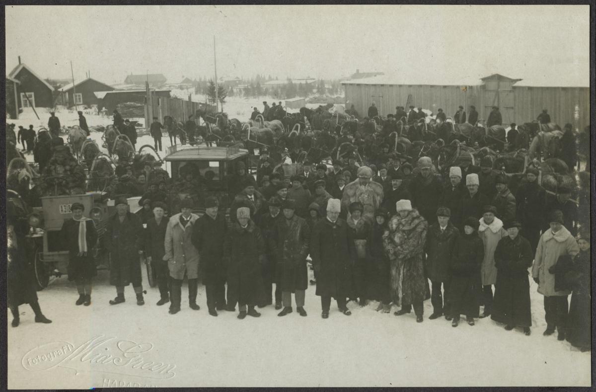 Vid Karungi station 1915.