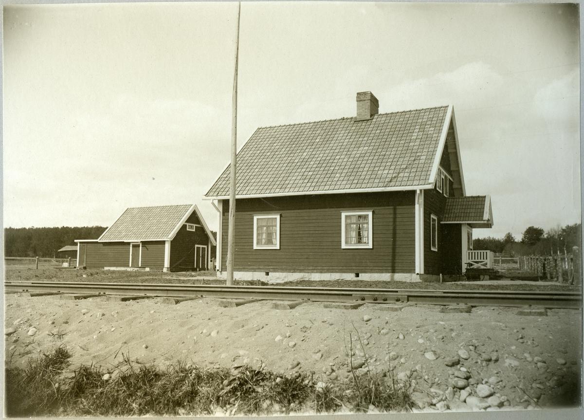 Skellefteå. Statens Järnvägar, SJ. Banmästarestugan. Elektrifierades 1997.