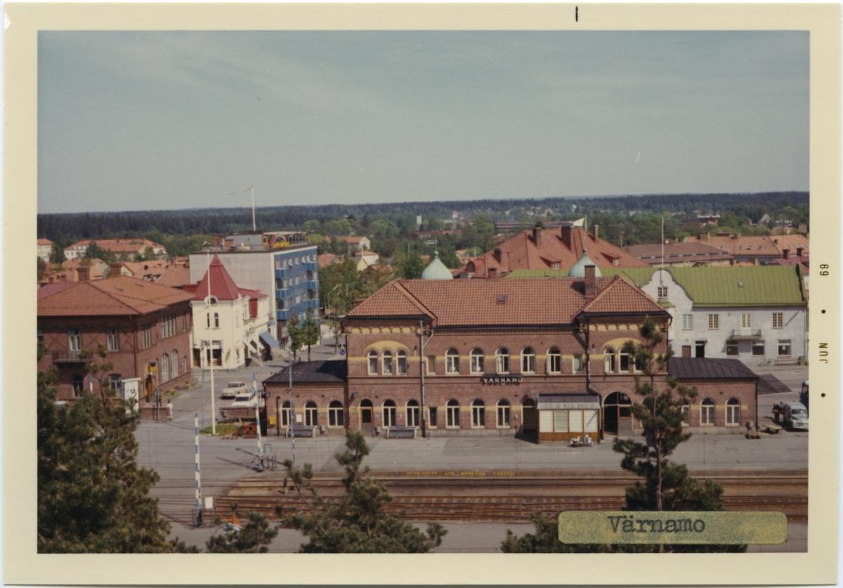 Värnamo station, byggd år 1898