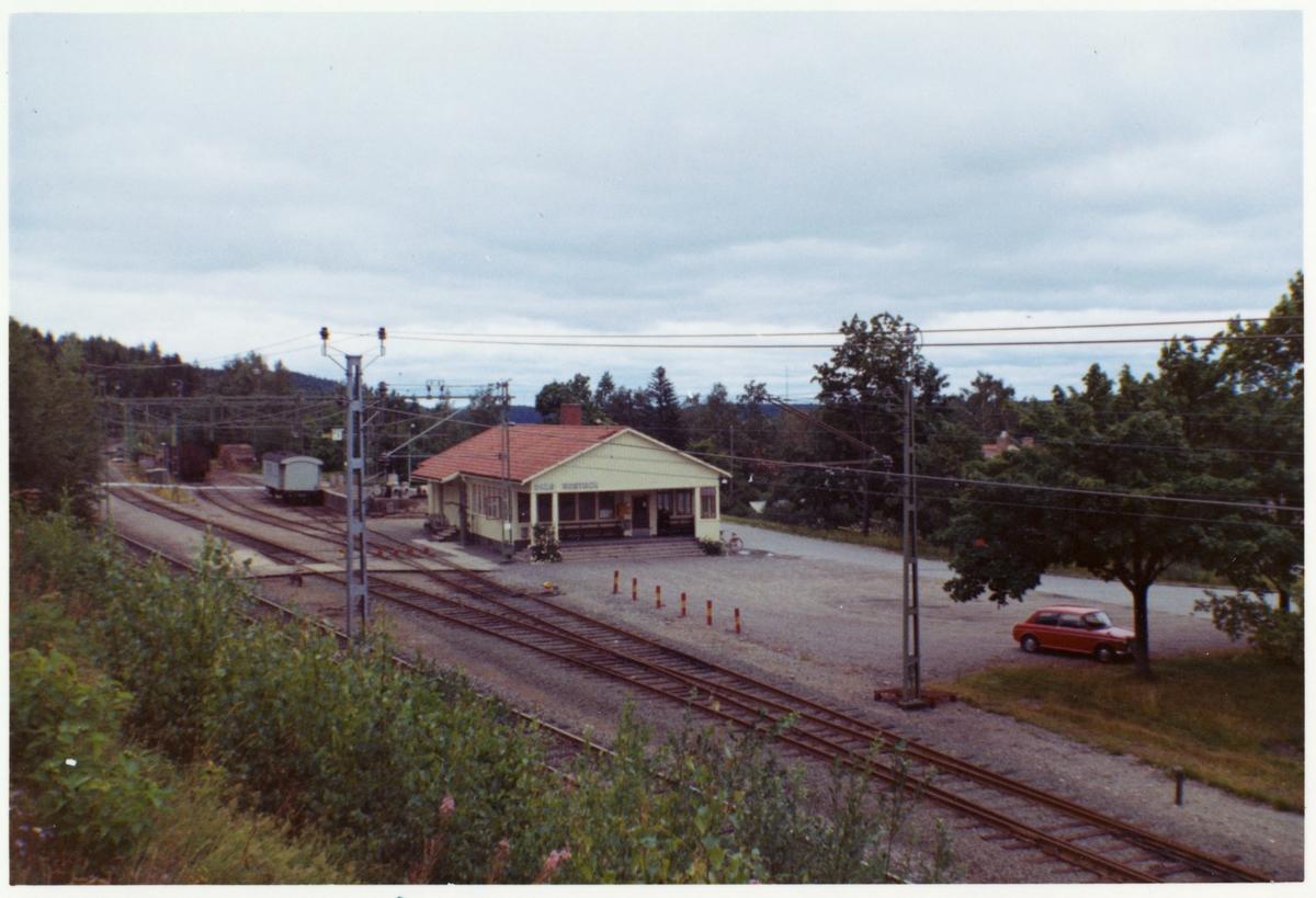 Dals Rostock stationshus.