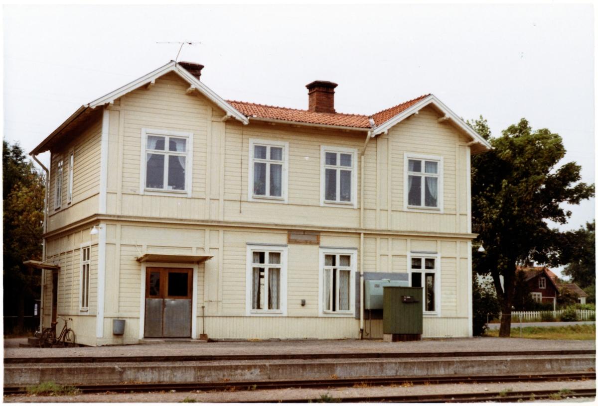 Läckeby station