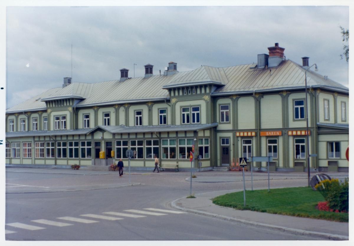 Östersund stationshus.