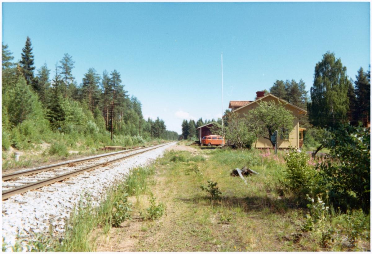 Stumsnäs station omkring år 1972.