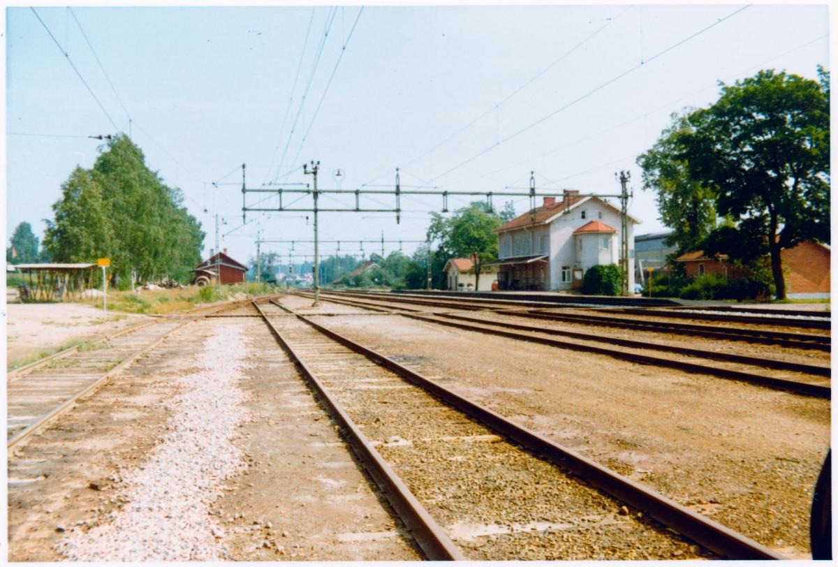 Fors station omkring år 1972.