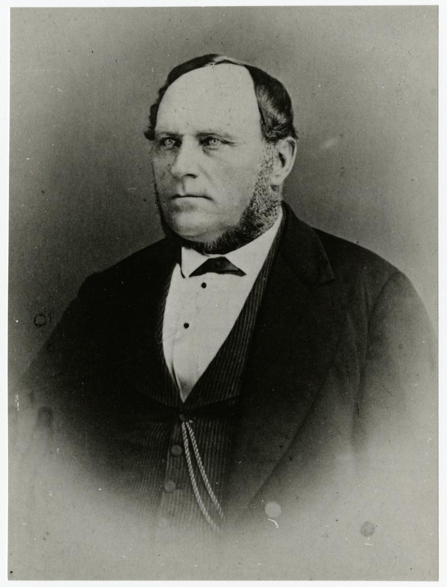 Sjökapten J. A. Landqvist, Luleå hamns förste hamnmästare.