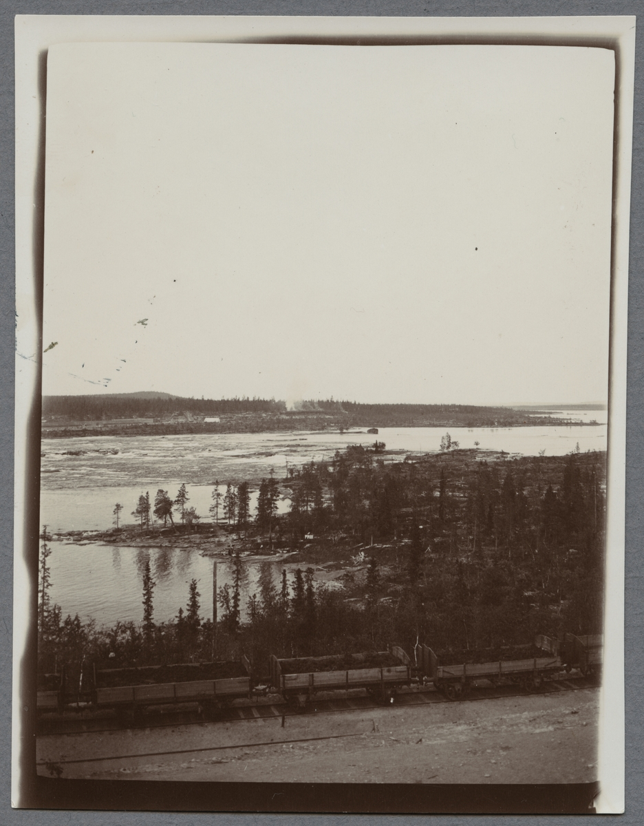 Porjus vid Luleälven.