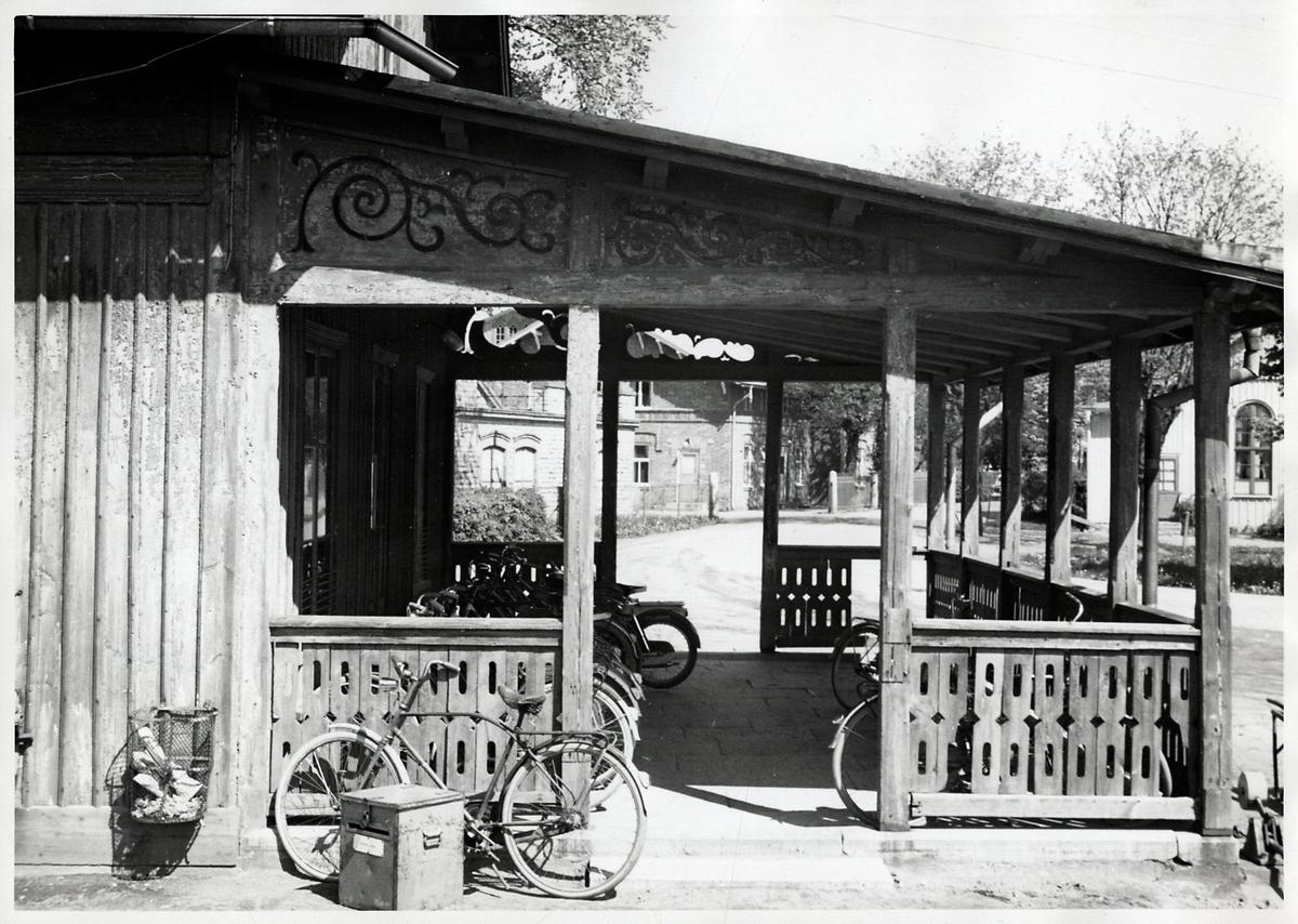 Axvall stationshus.