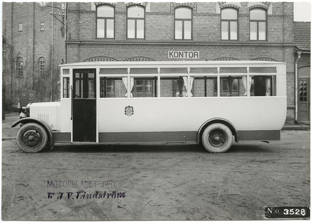 Buss tillverkad av Scania-Vabis.