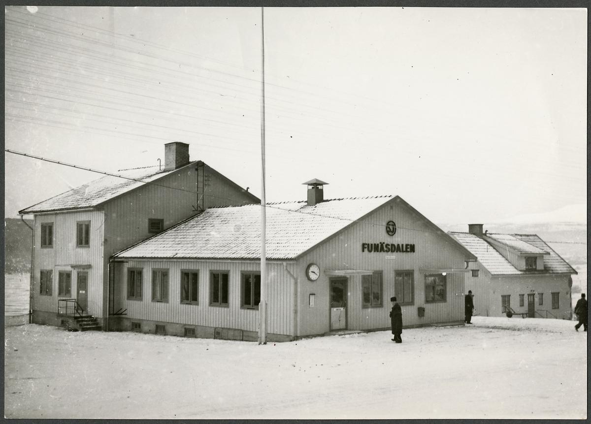 Funäsdalens busstation.