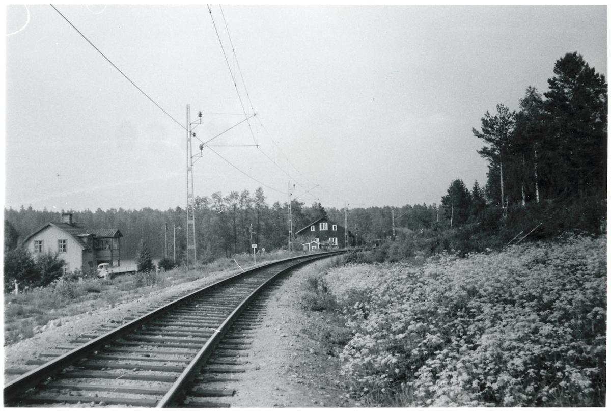 Viksjön banvaktstuga på linjen mellan Långviken och Iggesund.
