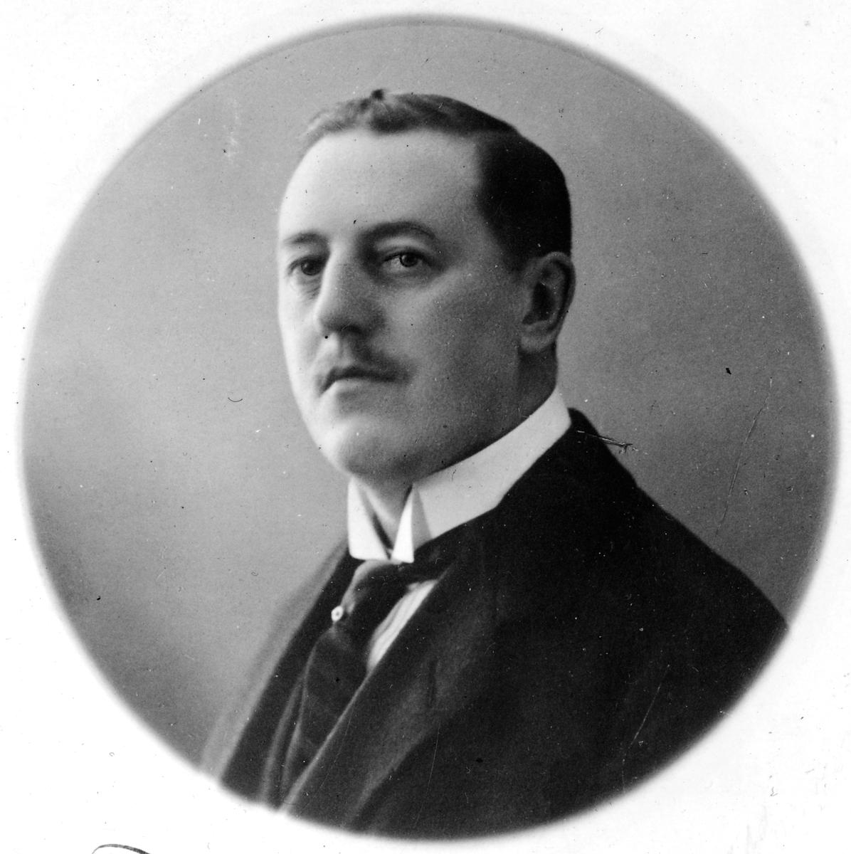 Stationsinspektor Abraham Victor Birger Pfeiff.
