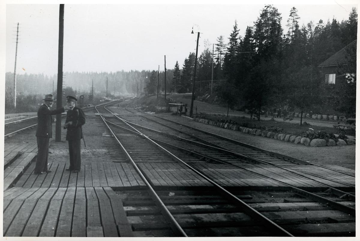 Vedas stationsmiljö.