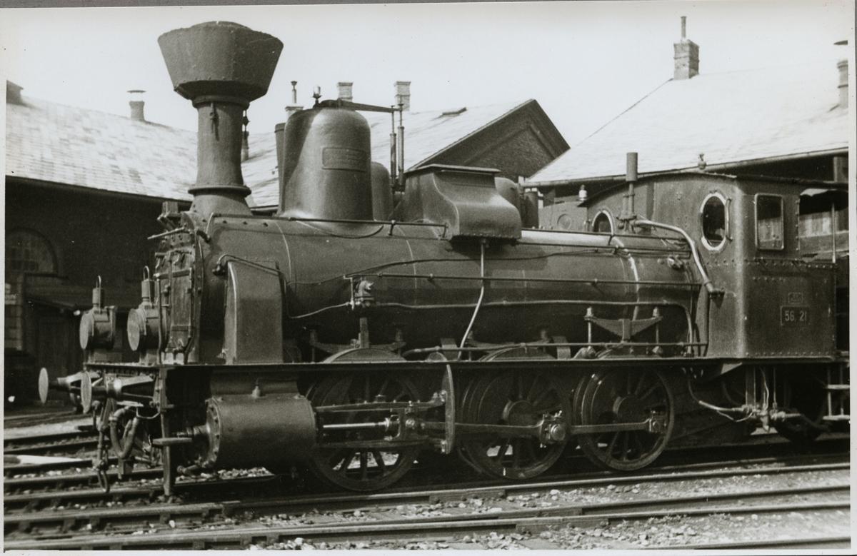 Bundesbahnen Österreich, BBÖ 56 21.