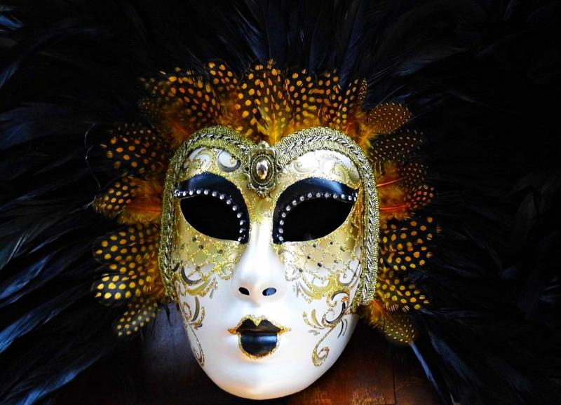 Venetiansk maske Foto: Fotogoocom CC-BY-3.0
