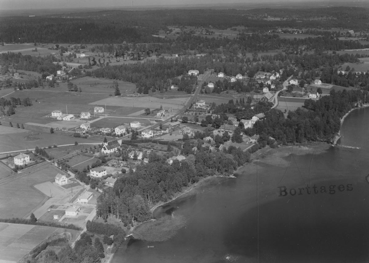 Flygfoto över Öreserum i Jönköpings kommmun Nr L 844.