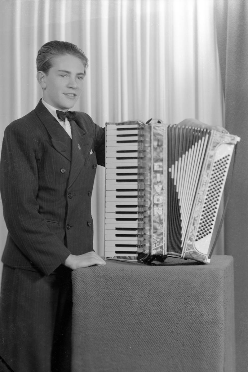 Evans Trio. Foto okt 1941.