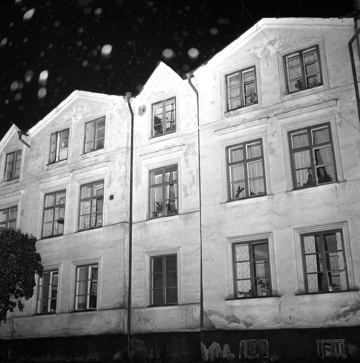 Skandalhus i Örebro. 4 oktober 1958.
