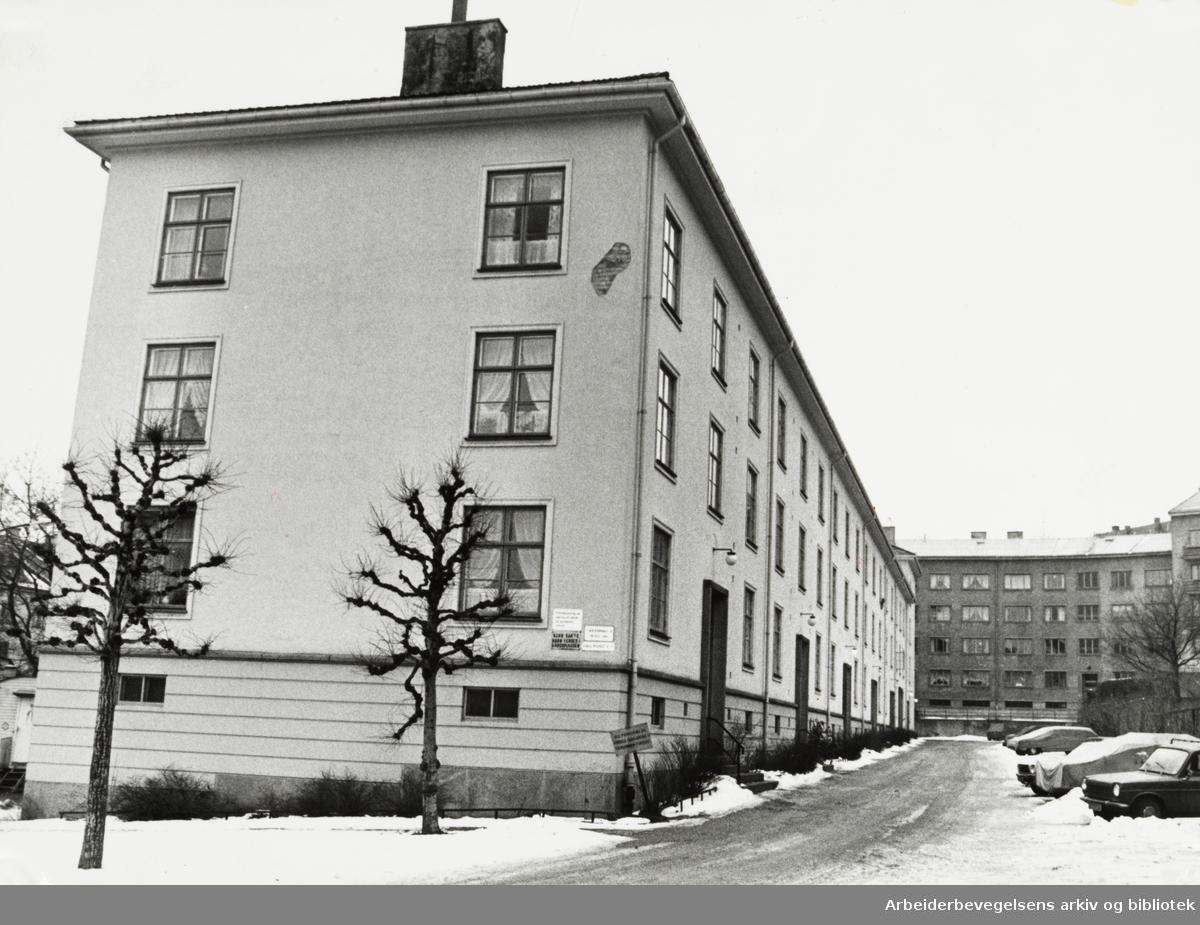 Evald Ryghs gate 16. Desember 1977