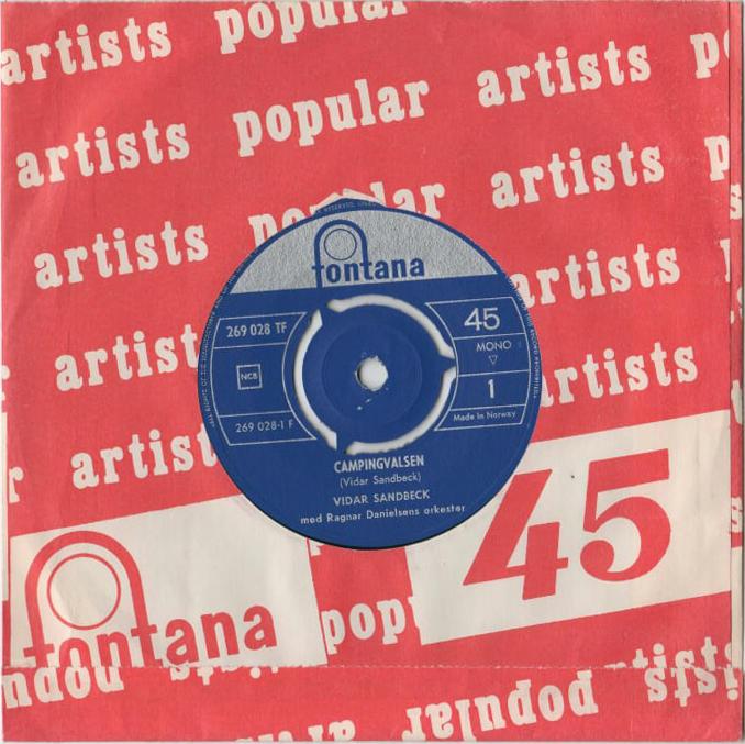 Vidar Sandbeck single nr. 14