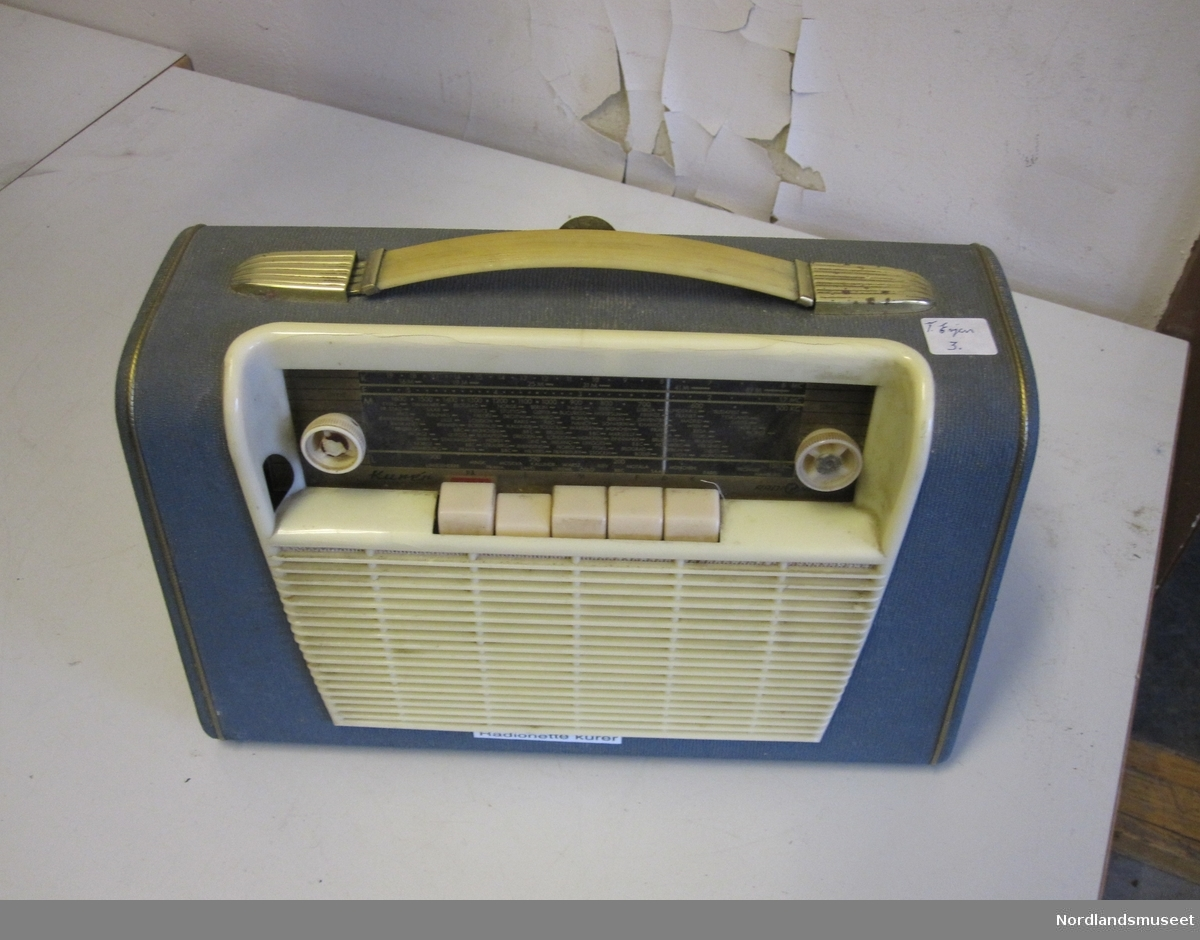 490850d5 Radiomottaker - Nordlandsmuseet / DigitaltMuseum