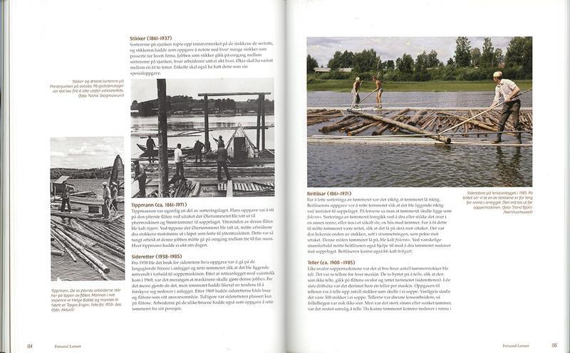 Foto av oppslåtte sider fra boka Stemmer fra elva. (Foto/Photo)