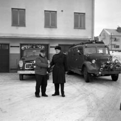 Brandkåren i Skönsberg flyttar med bilar och material till S